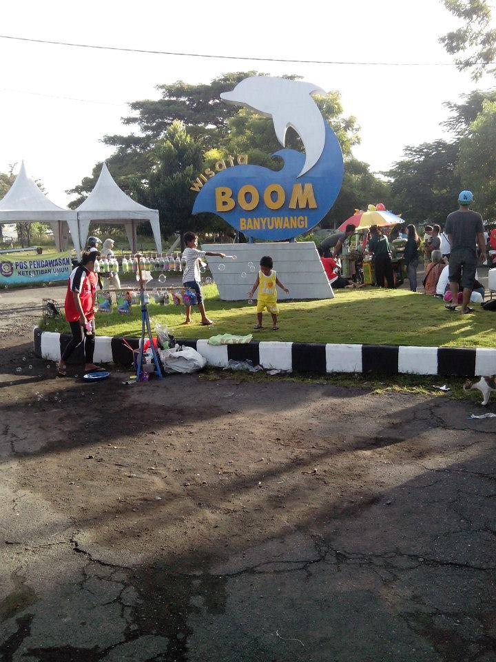 Pantai Boom Banyuwangi Wikipedia Bahasa Indonesia Ensiklopedia Bebas Taman Sritanjung