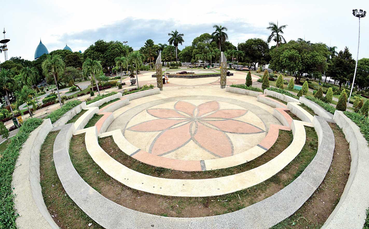 Taman Kota Cantik Sritanjung Kab Banyuwangi