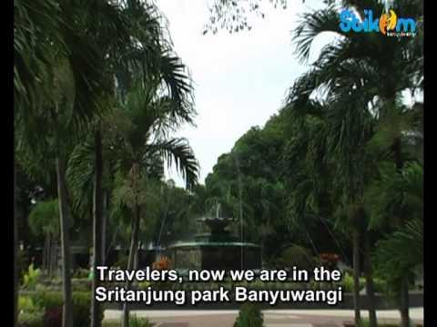 Wisata Pantai Boom Banyuwangi Taman Sritanjung Youtube Kab