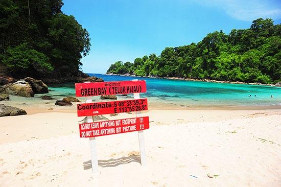 25 Info Lengkap Tempat Wisata Banyuwangi Teluk Hijau Biru Kab