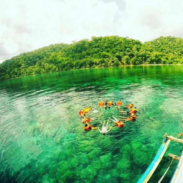 Explore Wisata Blue Bay Teluk Biru Tersebunyi Banyuwangi Kab