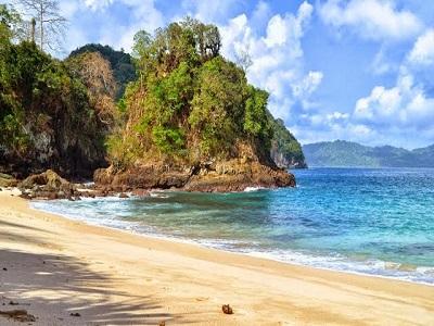 Harga Tiket Masuk Teluk Ijo Banyuwangi Keangkeran Wisata Jalan Hijau