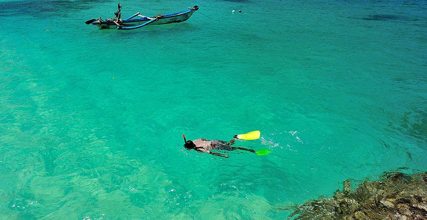 Pantai Teluk Hijau Surga Tersembunyi Terjamah Banyuwangi Backpacker Jakarta Biru
