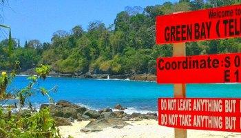 Teluk Biru Banyuwangi Sebuah Surga Tersembunyi Green Bay Eksotisme Wisata