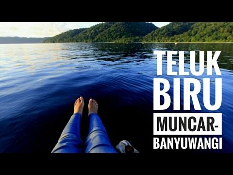Teluk Biru Banyuwangi Tourism Blue Bay Muncar Youtube Kab