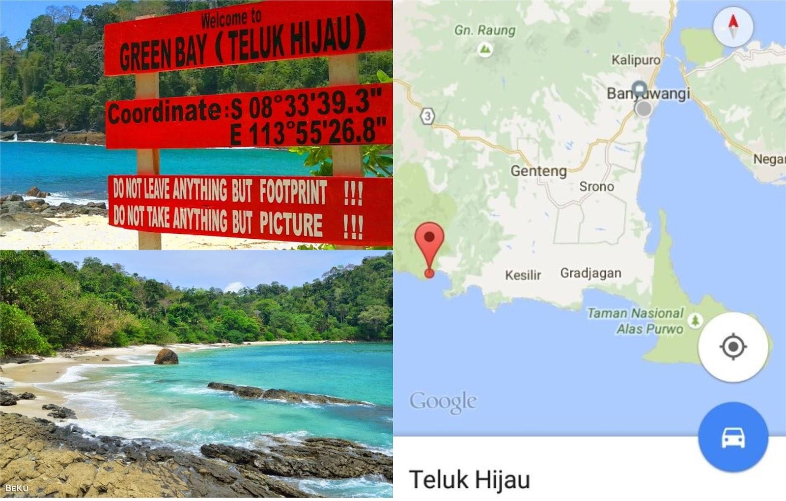 Coretan Kita Bersama Nama Pantai Kabupaten Banyuwangi Wedi Ireng Tugu
