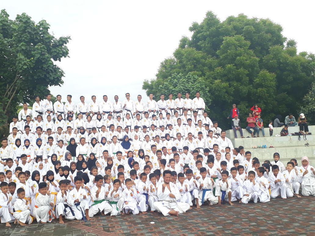 Kenang Tragedi 36 Tugu Inkai 300 Karate Ka Gelar Tabur