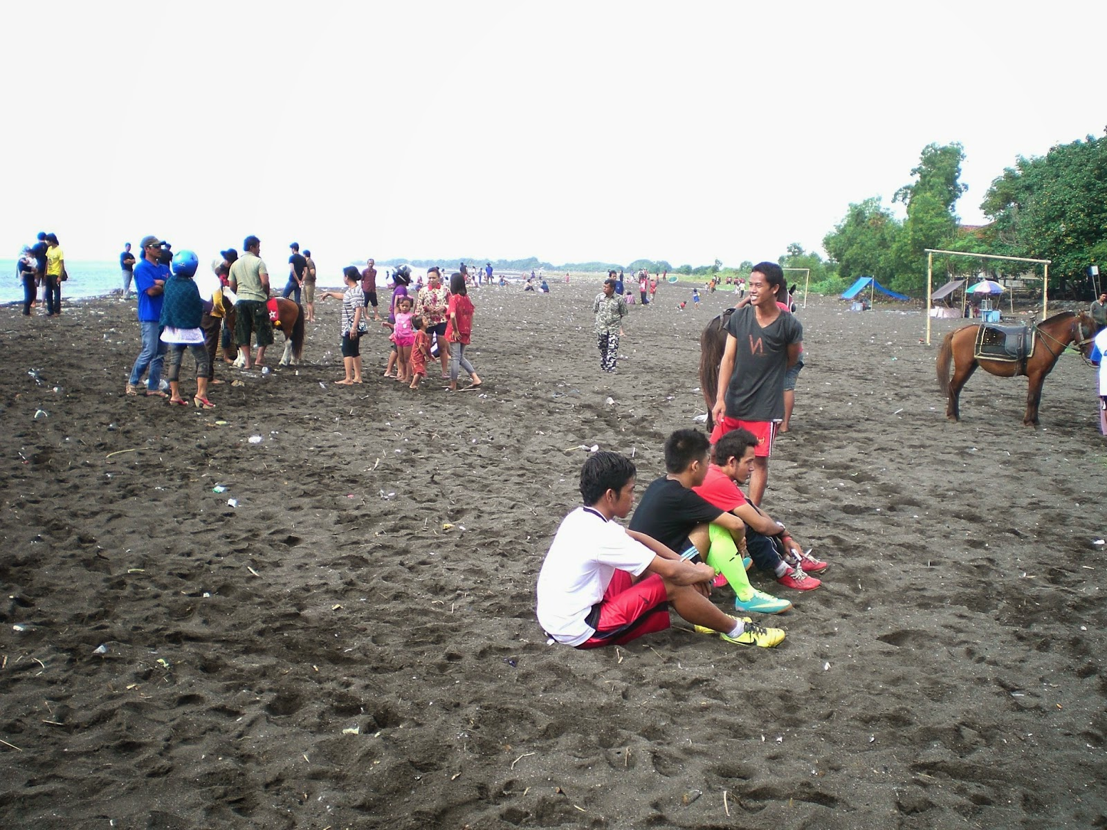 Pantai Boom Banyuwangi Bagus Tugu Inkai Kab