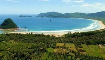 Pantai Boom Banyuwangi Fasilitas Harga Tiket Rute Map Wisata Alam