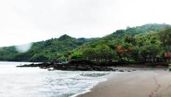 Pantai Boom Banyuwangi Keindahan Panorama Grajagan Tugu Inkai Kab
