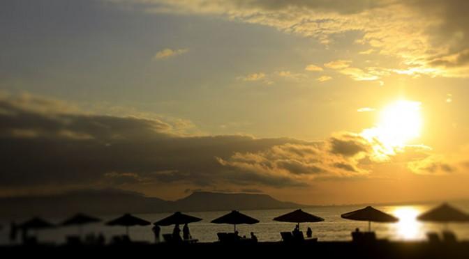 Pantai Boom Banyuwangi Keindahan Panorama Tugu Inkai Kab