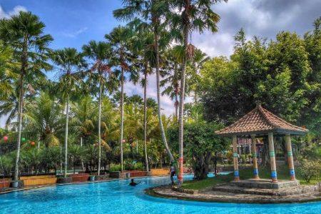 Keindahan Wisata Pemandian Umbul Bening Banyuwangi Water Park Kab