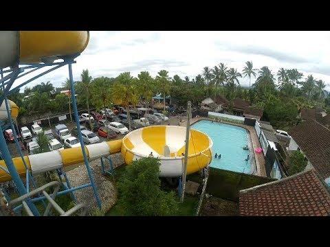 Water Boom Tornado Umbul Bening Glenmore Banyuwangi Youtube Park Kab