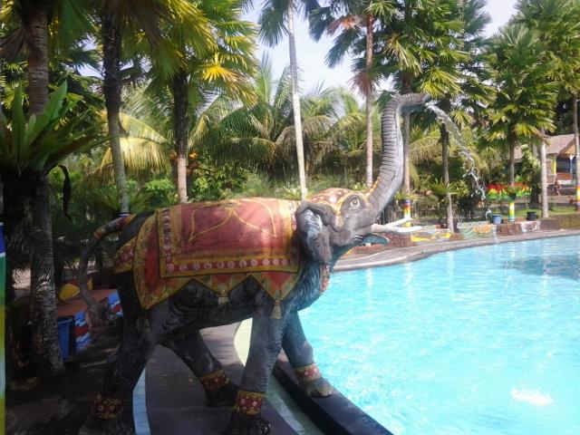 Wisata Kolam Renang Umbul Bening 3 Water Park Kab Banyuwangi