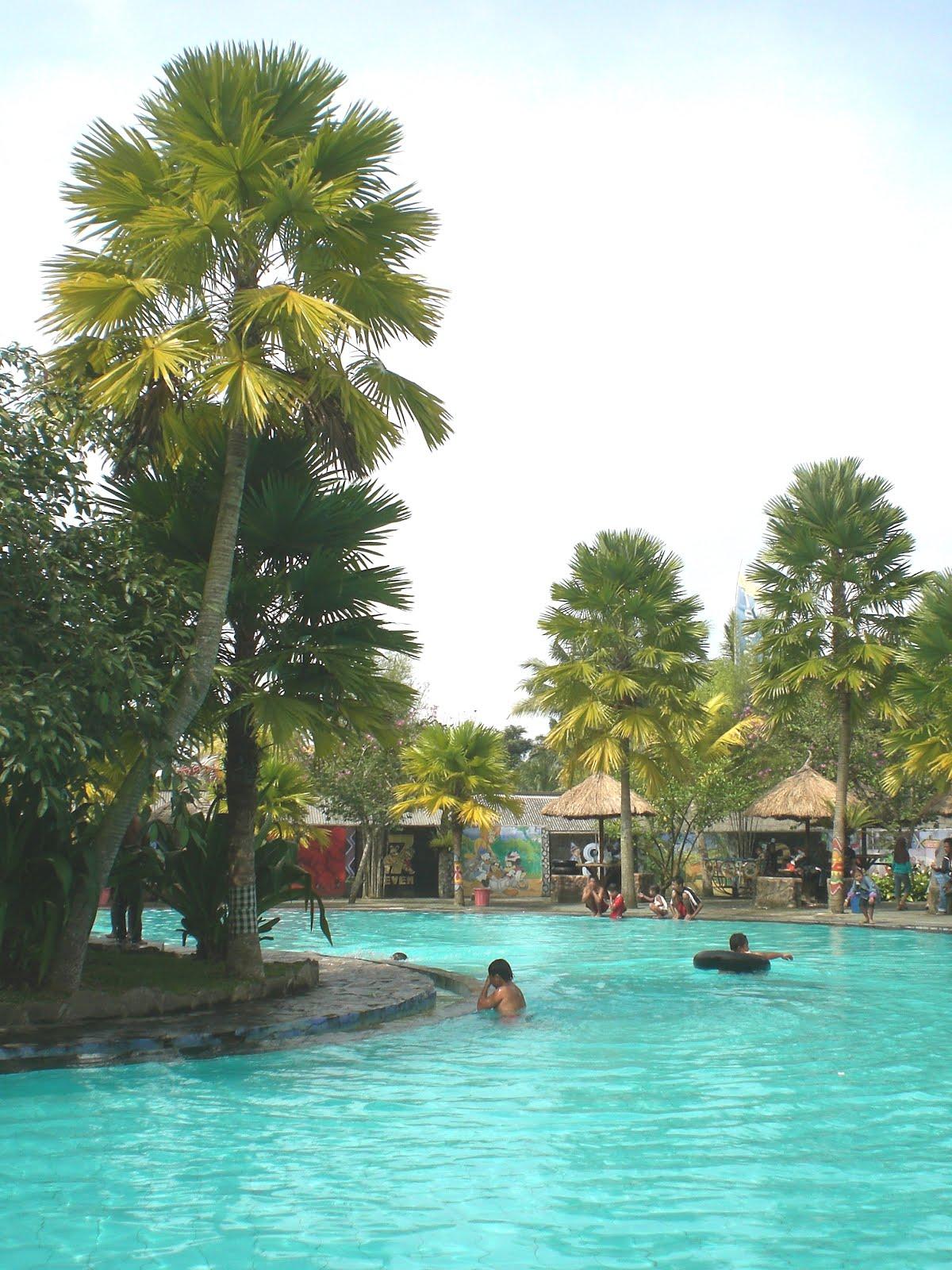 Wisata Umbul Bening Glenmore Banyuwangi Bagus Water Park Kab
