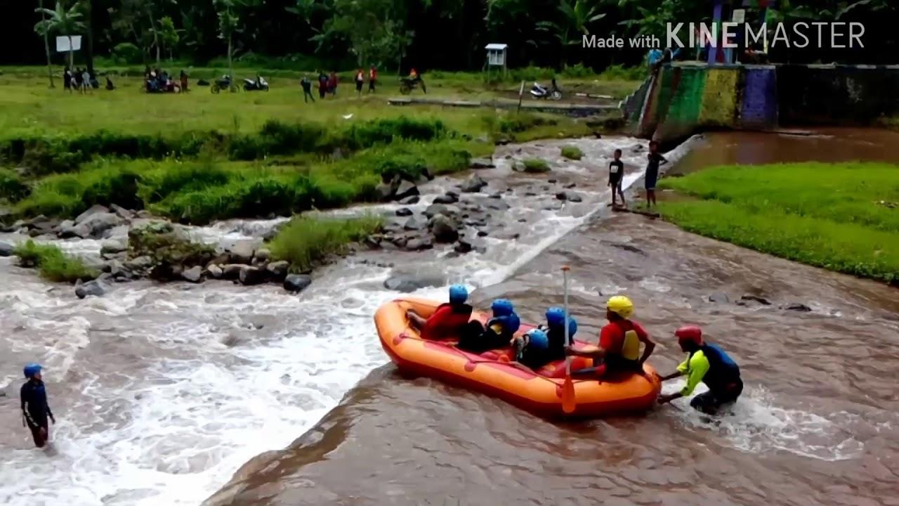 Arung Jeram Karo Adventure Songgon Banyuwangi Youtube Wisata Kab