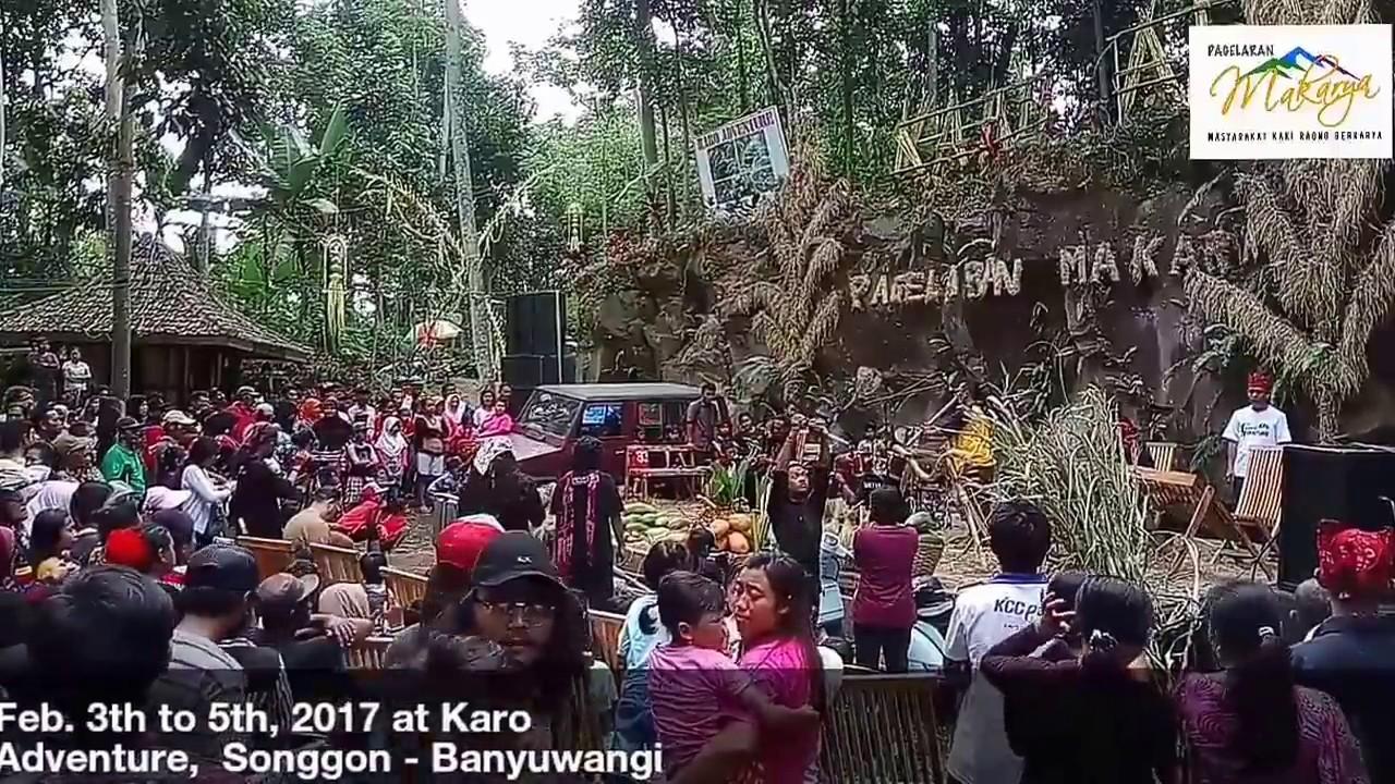 Unen Nusantara Pagelaran Makarya 1 2017 Karo Adventure Banyuwangi Wisata