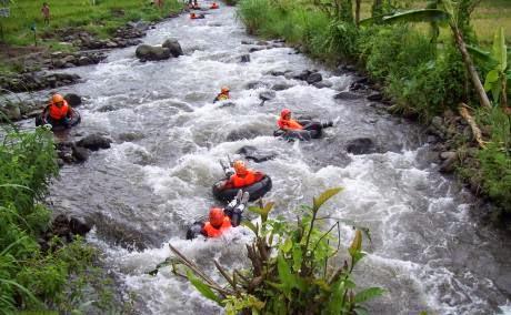 Wisata Arung Jeram Badeng Songgon Banyuwangi Bagus Tubing Kecamatan Karo