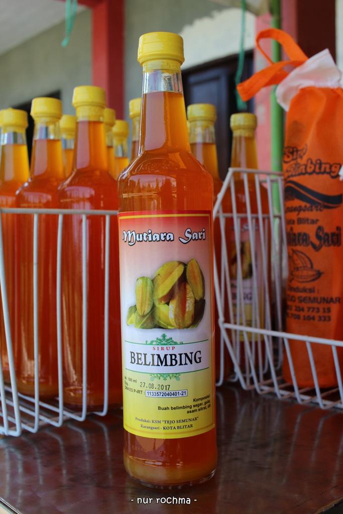 Lovely Mom Agrowisata Belimbing Karangsari Blitar Contohnya Minuman Kemasan Sari