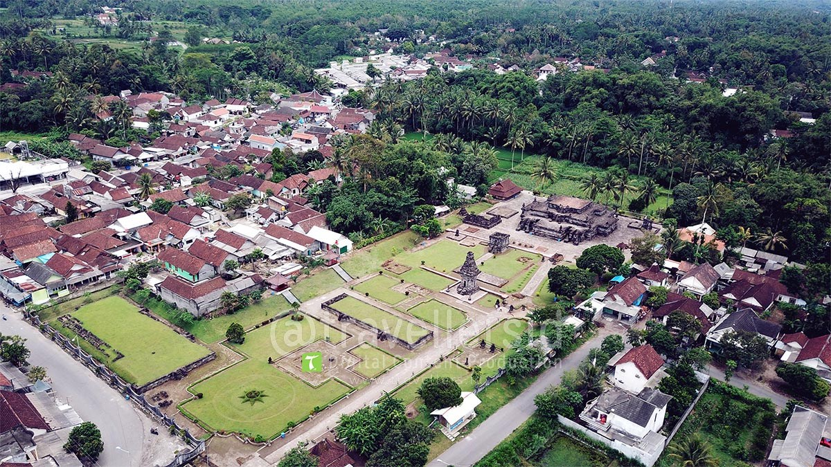 Stock Photo Video Candi Penataran Blitar Travellersid Kab