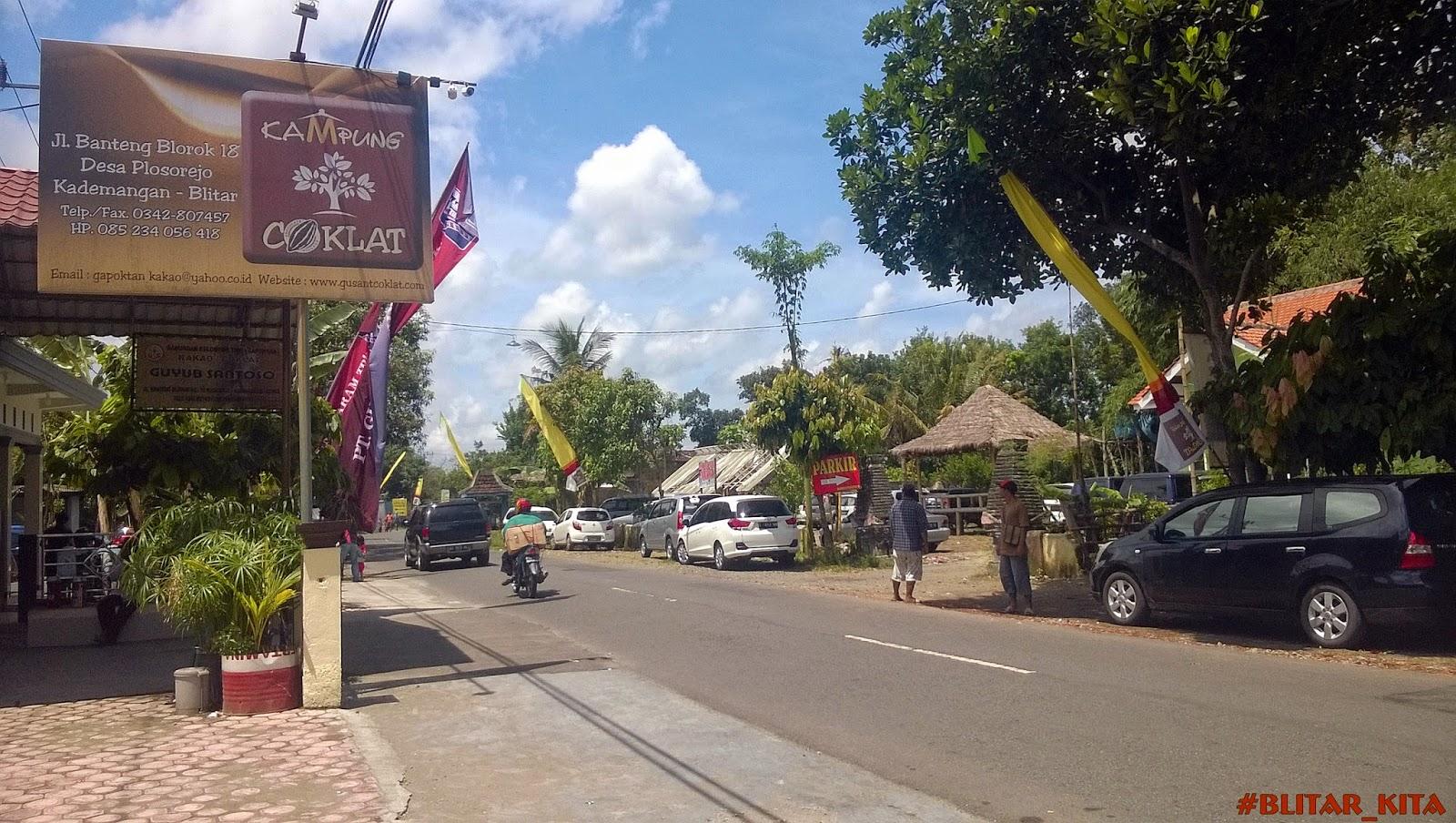 Berwisata Sambil Belajar Kampung Coklat Blitar Kemapata Online Berlokasi Jalan