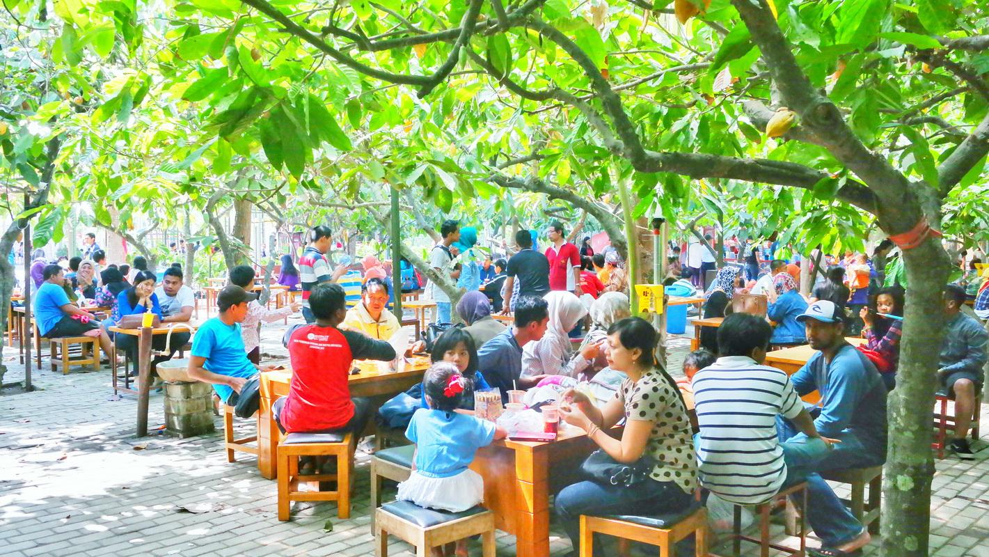 Paket Wisata Kampung Coklat Blitar Bisa Pelajar Cokelat Kab