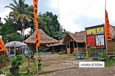 Kampung Melon Blitar Fauzi Explore Sendiri Berlokasi Desa Wisata Modangan