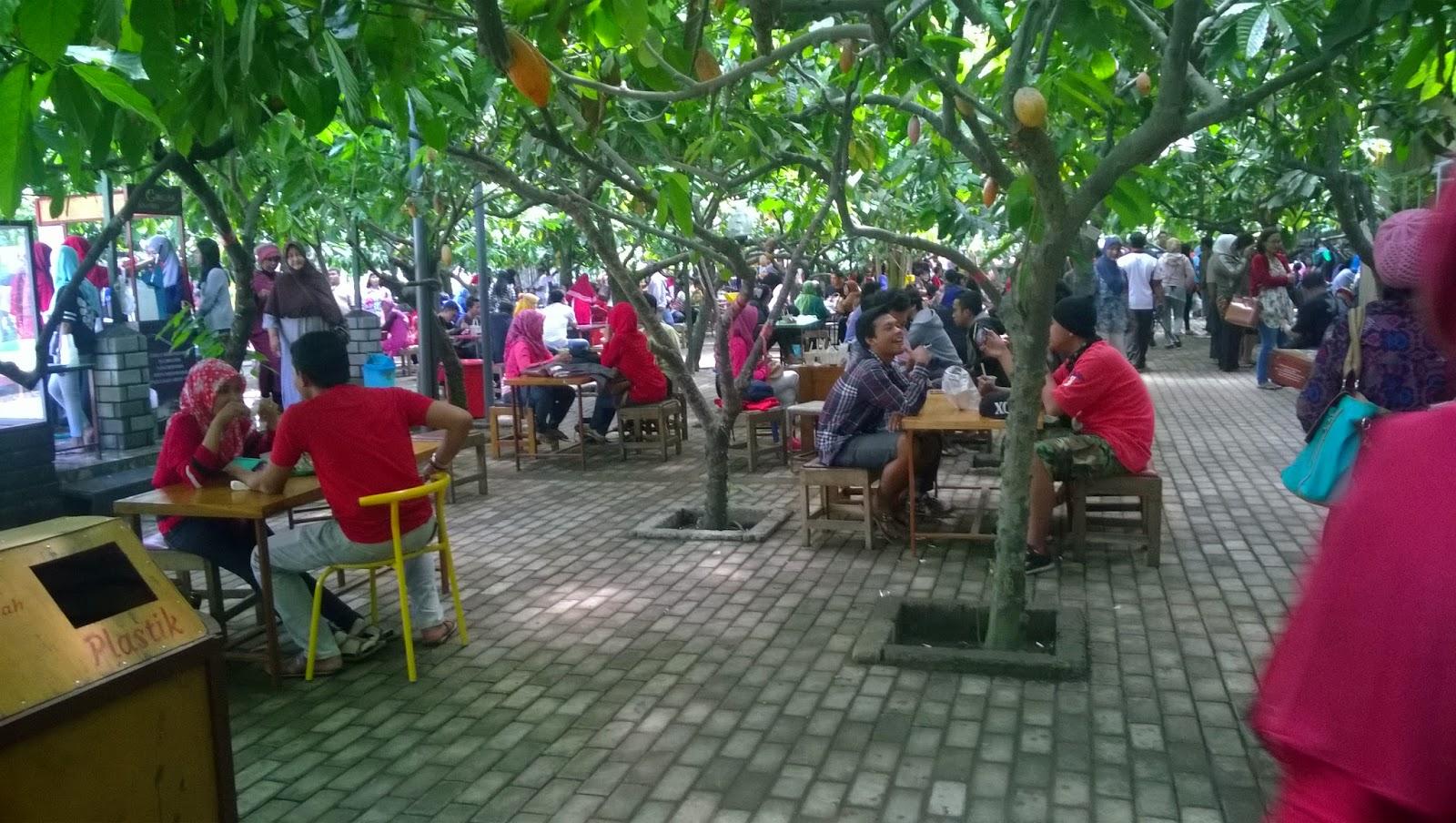 Kampung Coklat Wisata Edukasi Blitar Jawa Timur Kebun Ikan Kab
