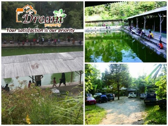 Tanah Dijual Dreamproperti Kolam Pancing Ikan Bambu Kuning Rumah Kota