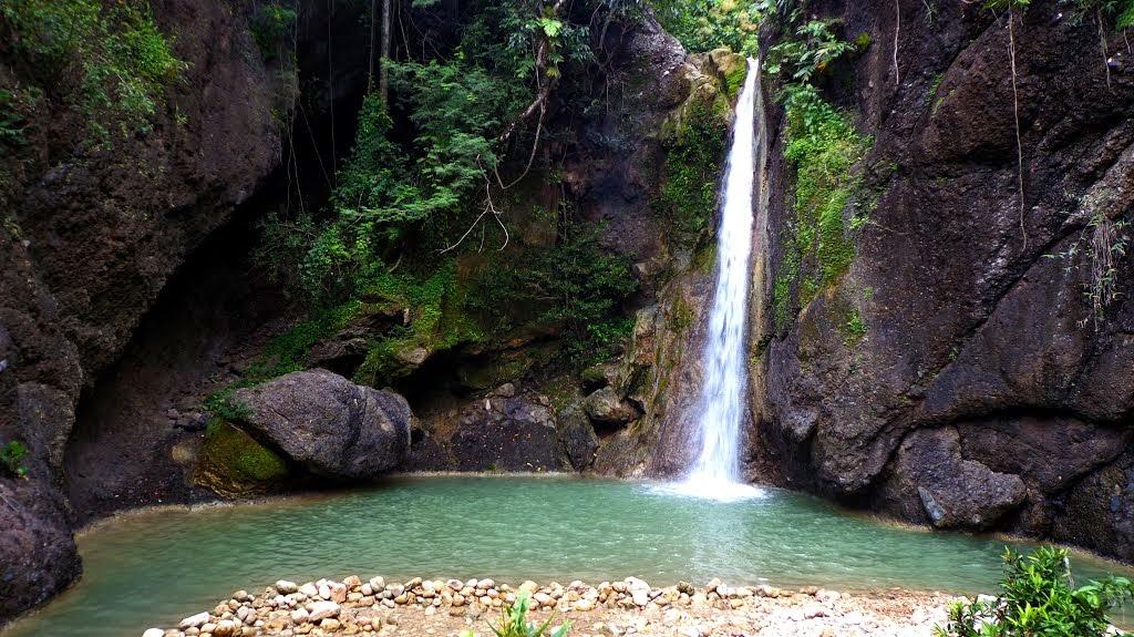 Wisata Blitar Berwisata Negeri Sendiri Air Terjun Grenjeng Terletak Desa