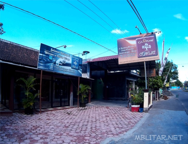 Wisata Edukasi Kampung Coklat Blitar Mblitar Net Kebun Ikan Kab