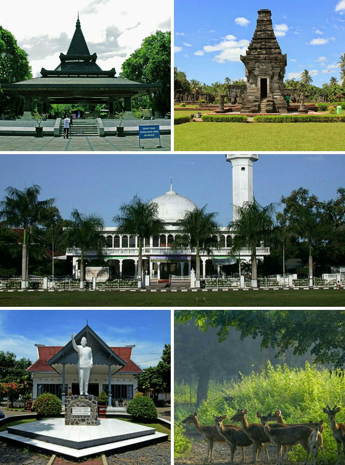 Kota Blitar Wikipedia Bahasa Indonesia Ensiklopedia Bebas Makam Bung Karno