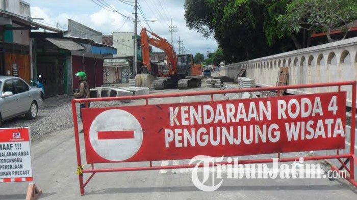 Proyek City Walk Wisata Makam Bung Karno Blitar Dikebut Kab