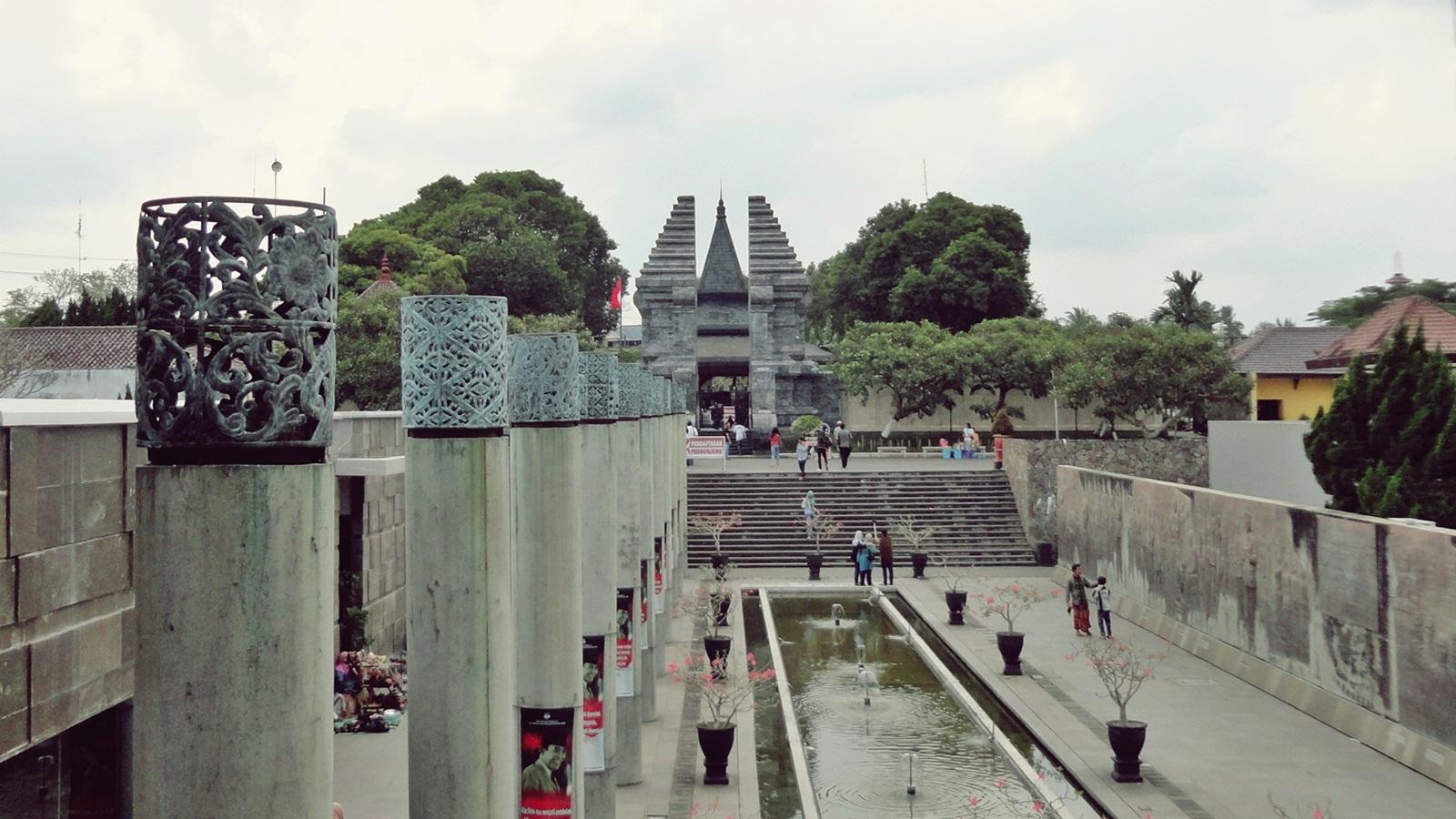 Soekarno Morning Kompleks Makam Bung Karno Dilengkapi Museum Perpustakaan Dibangun