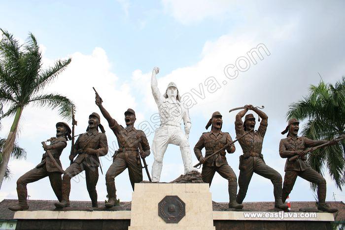 Galeri Foto Monumen Peta Kota Blitar Galleries Monument Preview 04