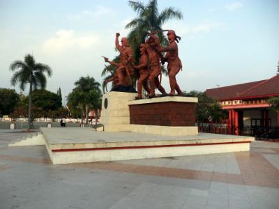Monumen Peta Blitar Lapangan Kab