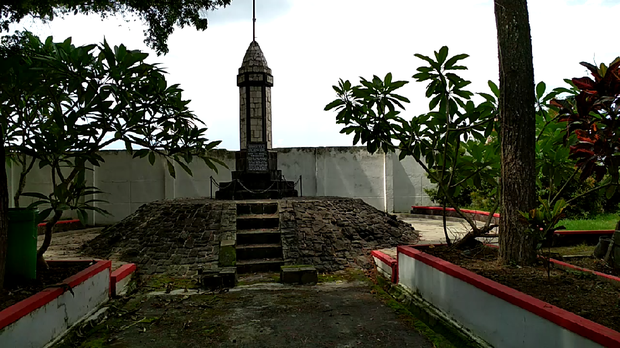 Monumen Potlot Pemberontakan Peta Blitar Berawal Foto Erliana Riady Kab