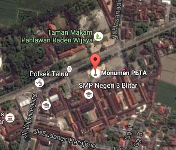 Pesona Keindahan Wisata Monumen Peta Blitar Jawa Timur Daftar Demikianlah
