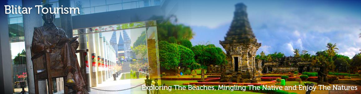 Peta Blitar Kabupaten Kota Wisata Slide Monumen Kab