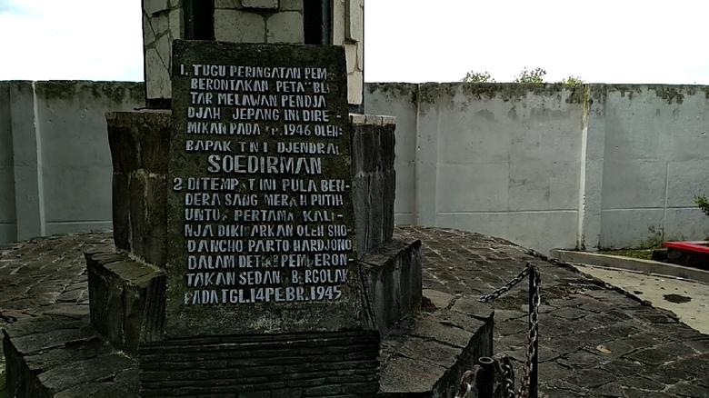 Potlot Pemberontakan Peta Blitar Berawal Monumen Kab