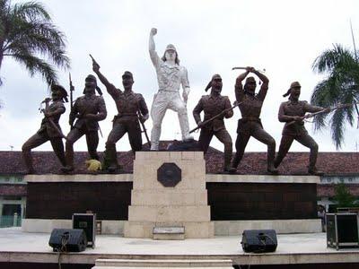 Tourism Soldier Monumen Peta Dibangun Memperingati Kejadian Bersejarah Terjadi 1945