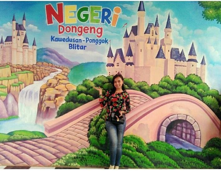 Negeri Dongeng Ponggok Blitar Menjadi Tempat Wisata Hits Salah Satu