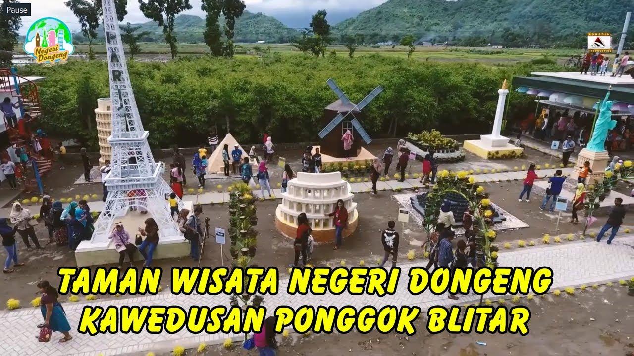 Taman Wisata Negeri Dongeng Kawedusan Ponggok Blitar Youtube Kab
