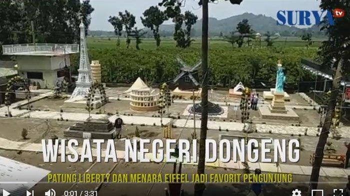 Video Berkunjung Negeri Dongeng Blitar Surya Kab