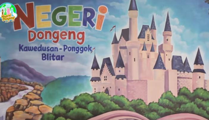 Wisata Negeri Dongeng Kawedusan Blitar Fasilitas Harga Tiket Kab
