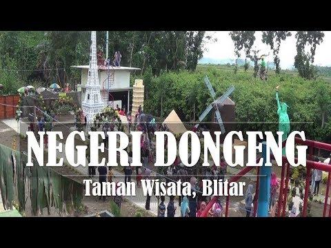 Wow Taman Wisata Negeri Dongeng Kawedusan Ponggok Blitar Youtube Kab
