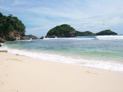 10 Foto Pantai Peh Pulo Blitar Jawa Timur Jalan Menuju