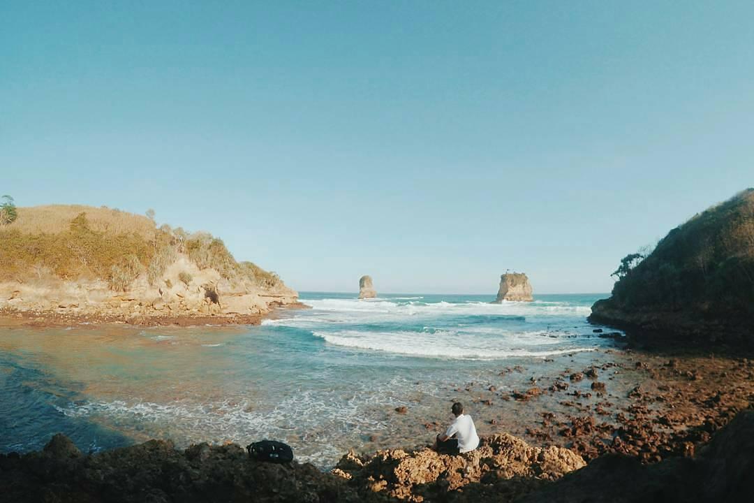 20 Pantai Blitar Hits Bagus Pemandanganya Dung Dowo Asik Dinikmati