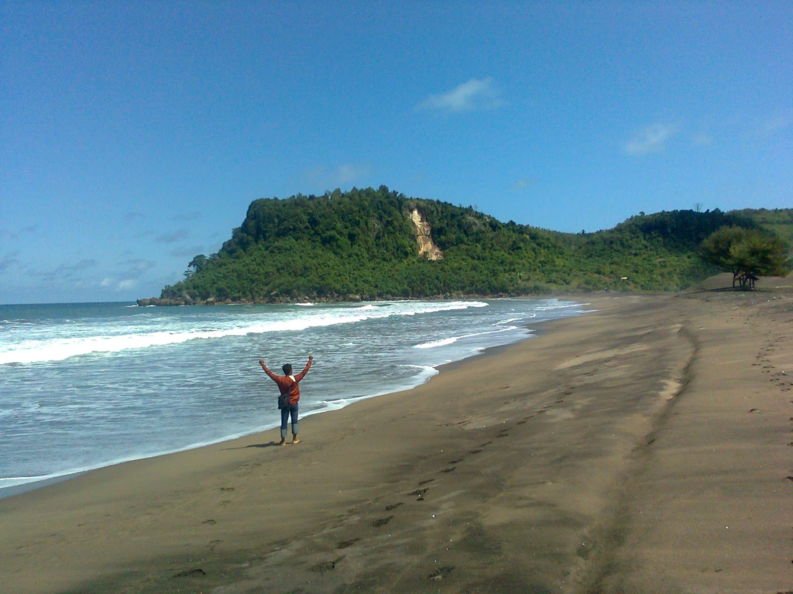 Jejak Kaki Pantai Pasur Blitar Kab