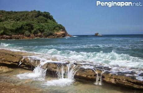 Lima Pantai Menakjubkan Blitar Penginapan Net 2018 Pasetran Gondo Mayit